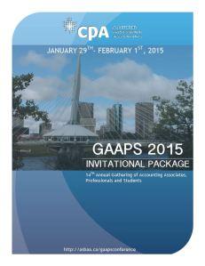 GAAPS Cover